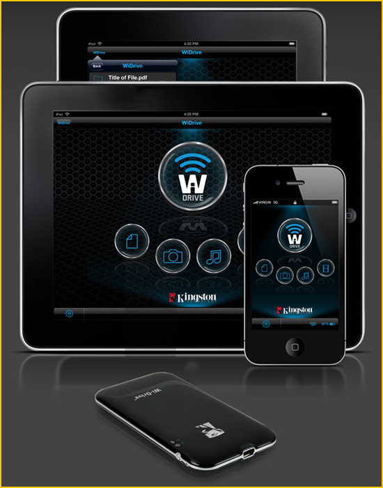 Application mobile Wi-Drive