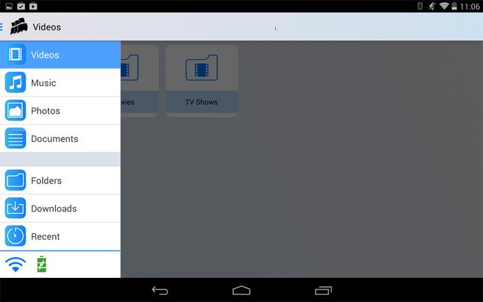 App Mobile gestion de fichiers